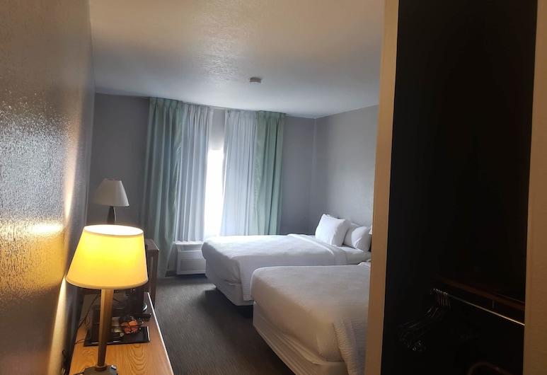 Country Inn & Suites by Radisson, Fairview Heights, IL, Fairview Heights, Habitación, 2 camas Queen size, con acceso para silla de ruedas, para no fumadores, Habitación