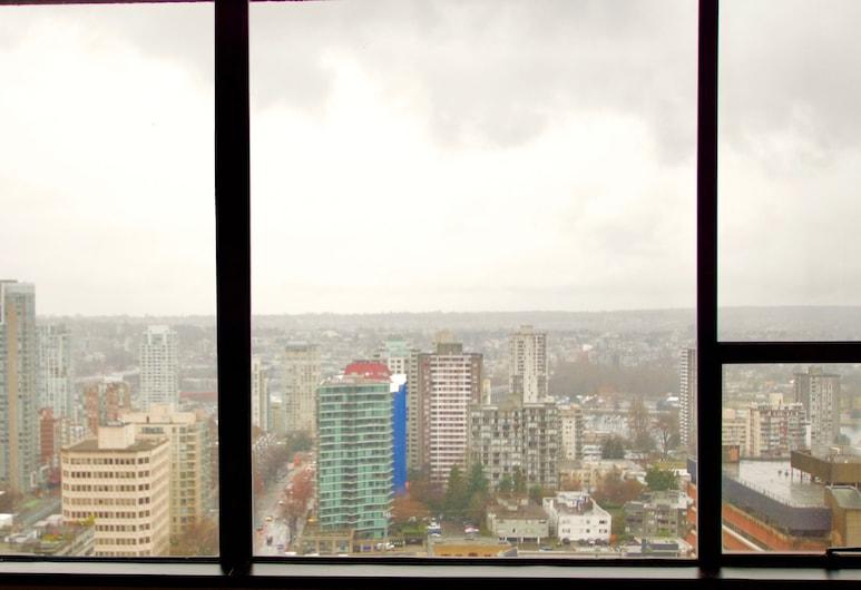 Century Plaza Hotel & Spa, Vancouver, Suíte estúdio standard, 1 cama King, Vista para a cidade