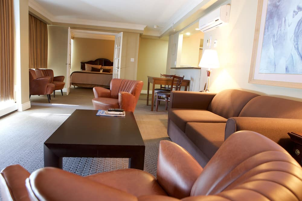 Представительский люкс, 1 двуспальная кровать «Кинг-сайз» - Гостиная