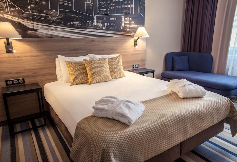 Mercure Warszawa Centrum, Warszawa, Superior-rum - 1 queensize-säng, Gästrum