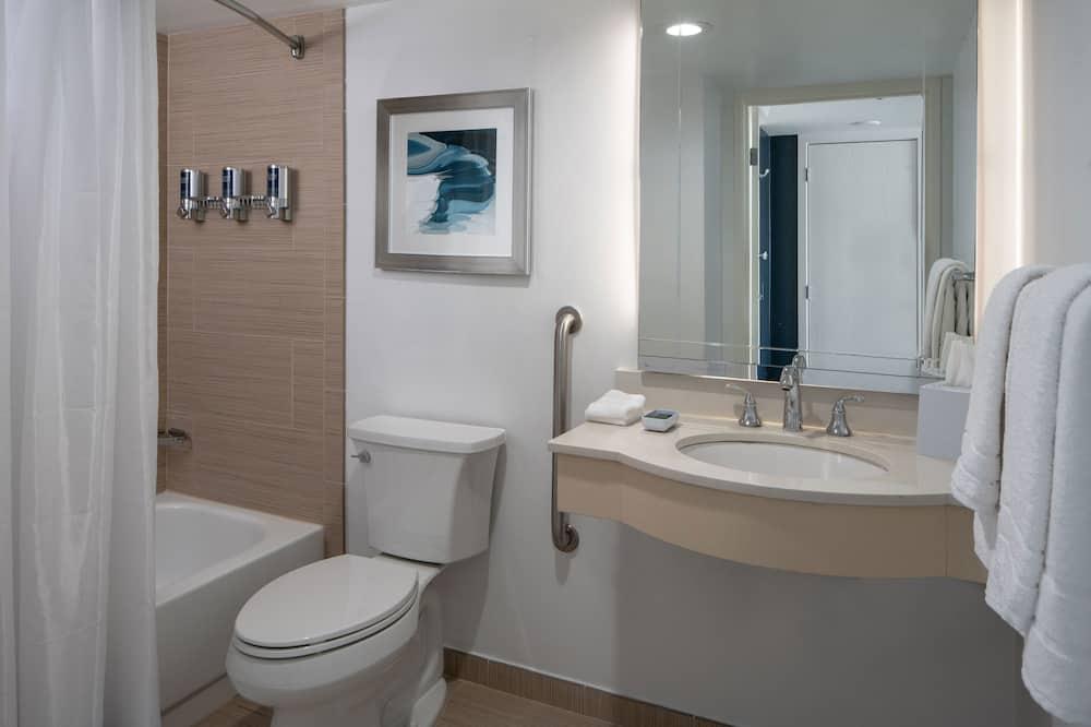 Liukso klasės numeris, 1 miegamasis, Nerūkantiesiems - Vonios kambarys