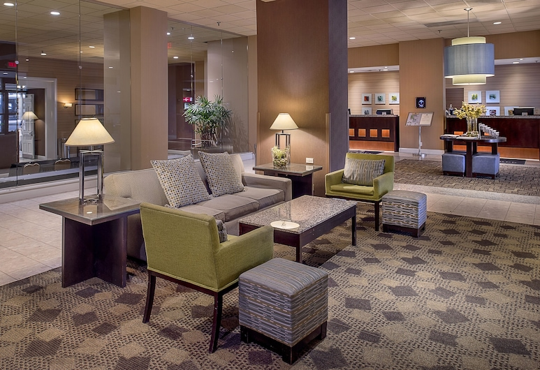DoubleTree by Hilton Hotel St. Louis Westport, Maryland Heights, Prostor za sjedenje u predvorju