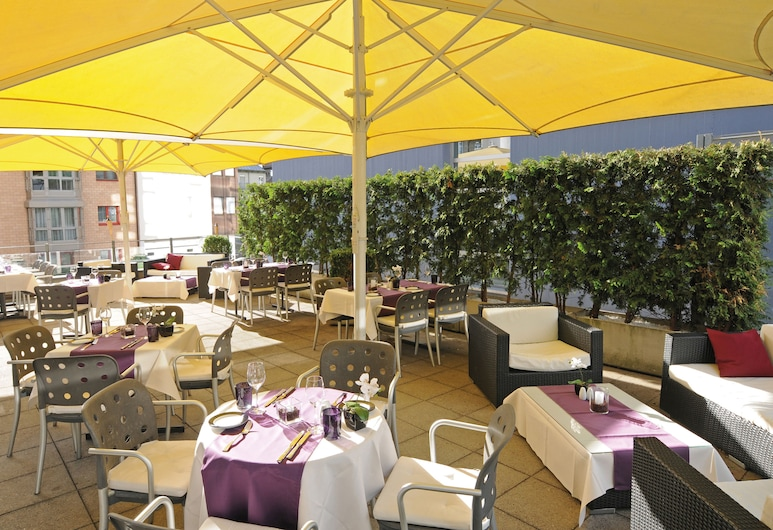 Leonardo Boutique Hotel Rigihof Zurich, Zurych, Taras/patio