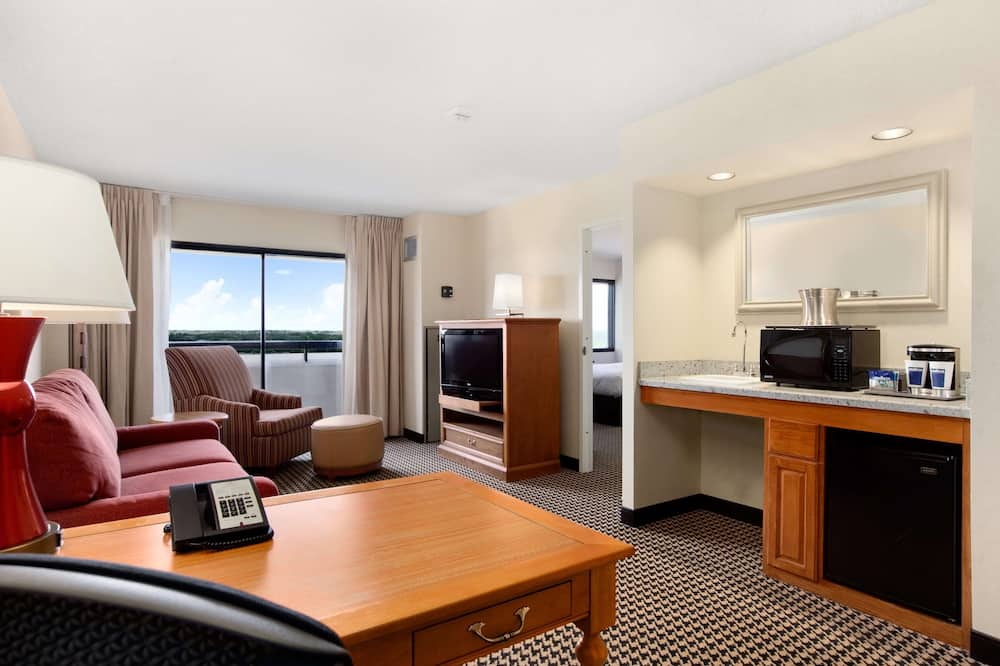 One Bedroom Conference Suite, One King Bed - Living Area