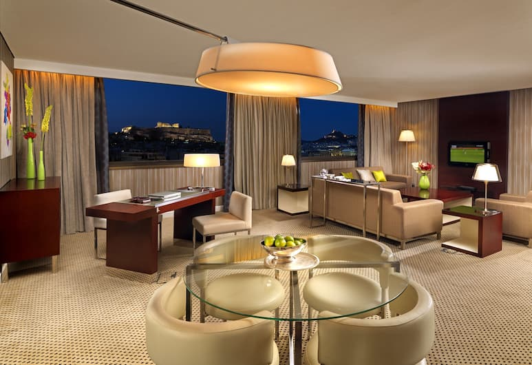 Athenaeum InterContinental, Athens, Luxury Suite, Guest Room