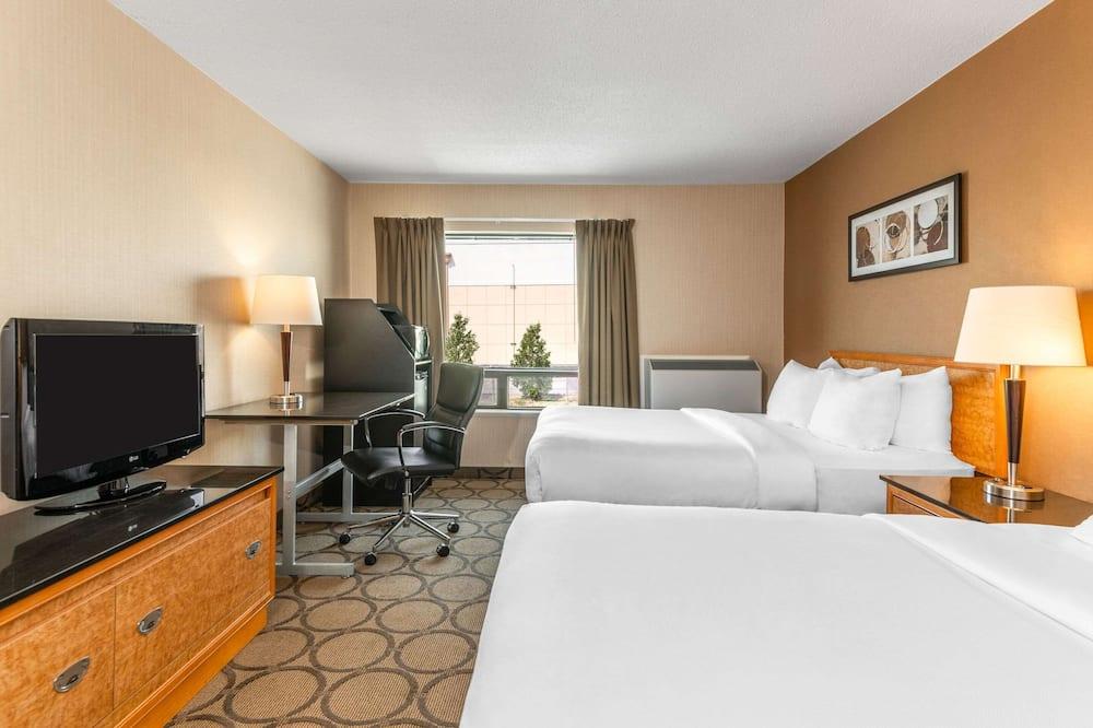 客房, 2 張加大雙人床, 非吸煙房 (Upper Floor) - 客房