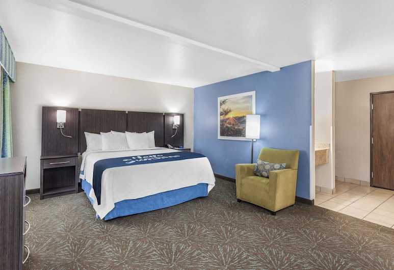 Days Inn & Suites by Wyndham East Flagstaff, Flagstaff, Studio Suite, 1 King Bed (No Pets Allowed), Guest Room
