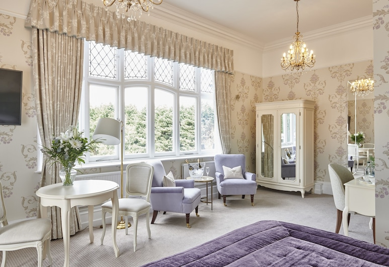 Laura Ashley - The Iliffe, Coventry, Deluxe Room, 1 Katil Raja (King), Non Smoking, Bilik Tamu
