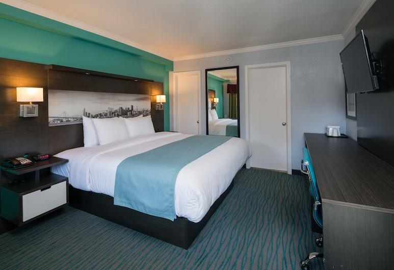 Days Inn by Wyndham San Francisco Downtown/Civic Cntr Area, San Francisco, Camera Standard, 1 letto king, Camera