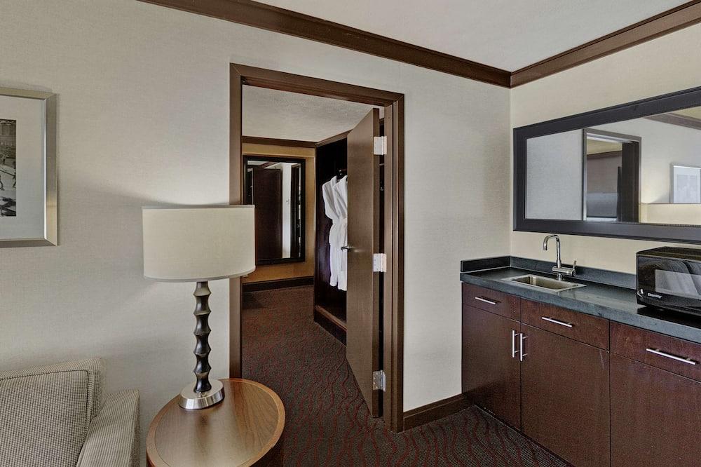 Executive-suite, 1 kingsize bed, niet-roken - Woonruimte