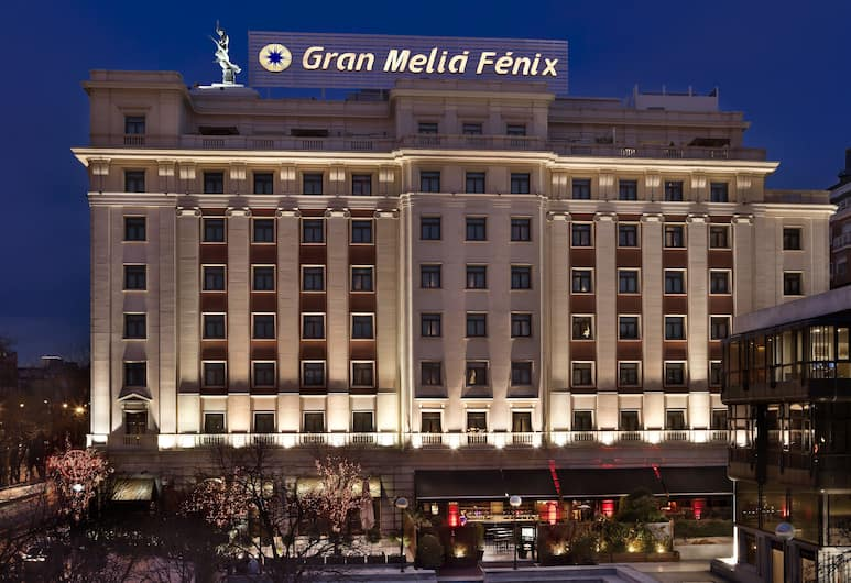 Gran Melia Fénix - The Leading Hotels of the World, Madrid, Hotel Front – Evening/Night