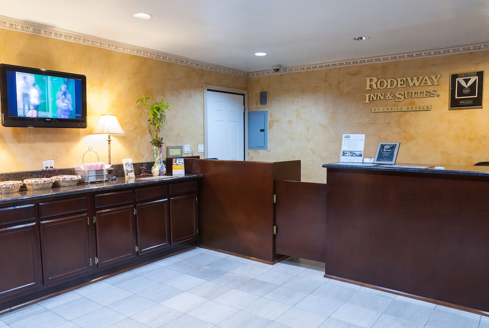 Rodeway Inn Suites Pacific Coast Highway Harbor City Reception