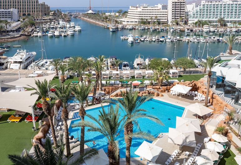 Crowne Plaza Hotel Eilat, Eilat, Pool