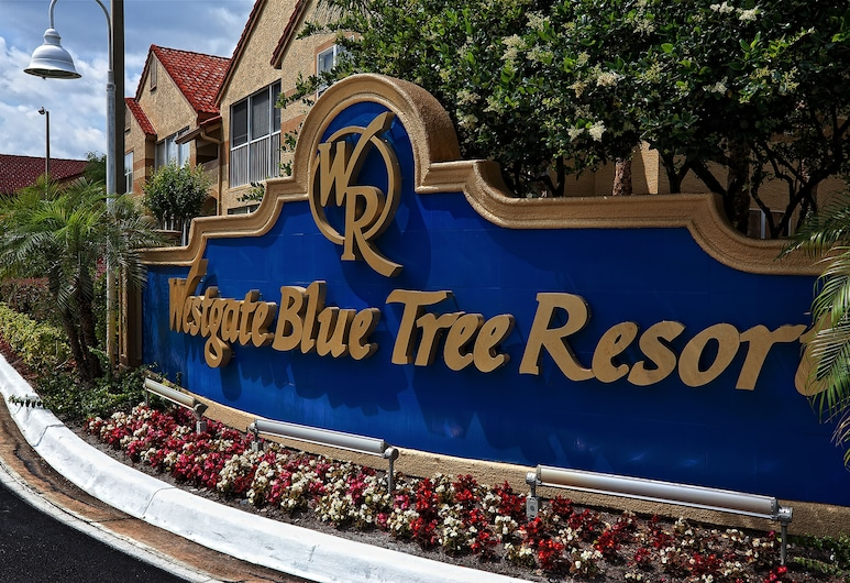 Westgate Blue Tree Resort in Lake Buena Vista, Orlando, Fasada hotelu