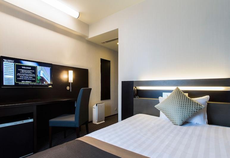 Hotel new Hankyu Osaka Annex, Ósaka, Jednolůžkový pokoj, kuřácký (Moderate / 140cm, 1 Bed), Pokoj