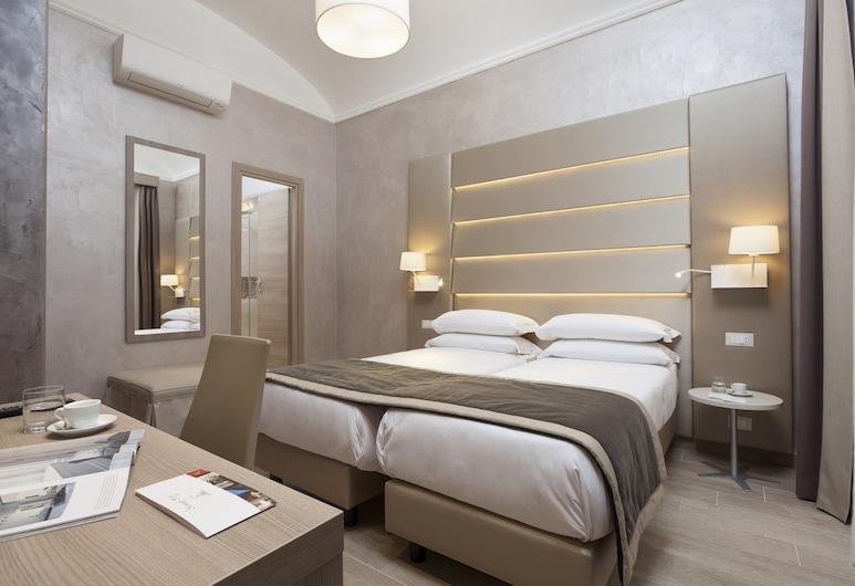Kennedy Hotel, Rome, Appartement, 1 chambre, dans les dépendances (Via Carlo Cattaneo, 24), Chambre