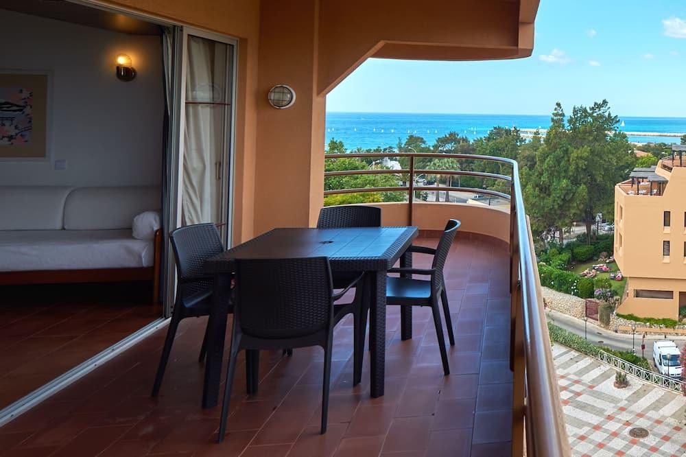 Superior Apartment, 1 Bedroom, Ocean View - Balkoni