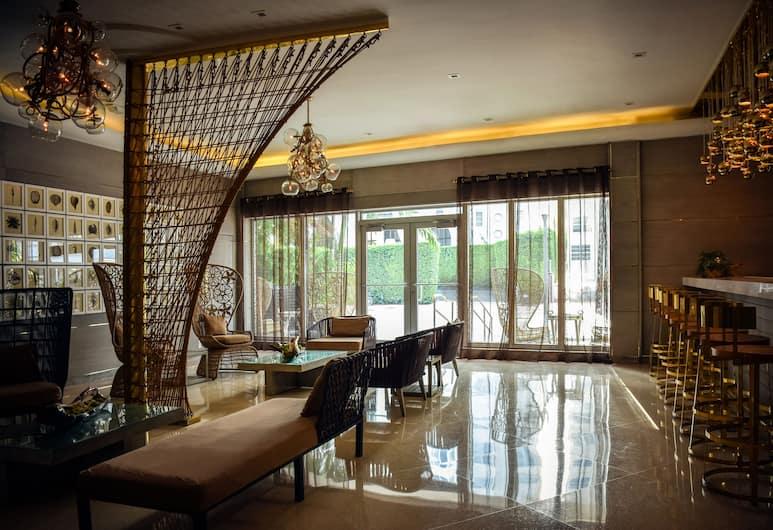 San Juan Hotel, Miami Beach, Sala de estar en el lobby