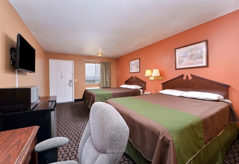 Americas Best Value Inn & Suites Siloam Springs, Siloam Springs, Herbergi - 2 meðalstór tvíbreið rúm - Reykherbergi, Herbergi