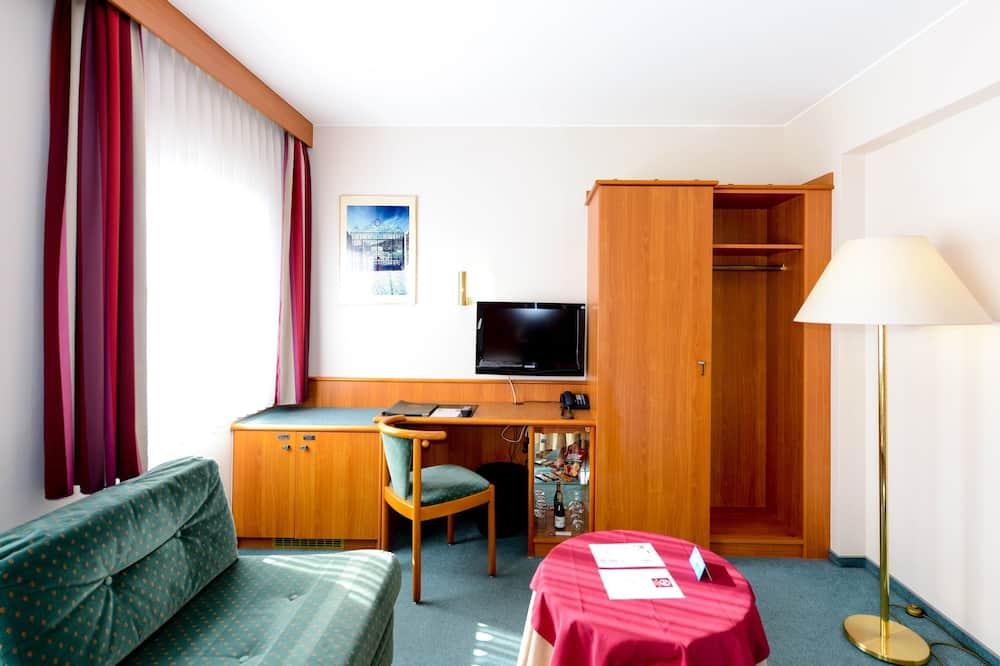 Standard Δίκλινο Δωμάτιο (Twin) - Περιοχή καθιστικού
