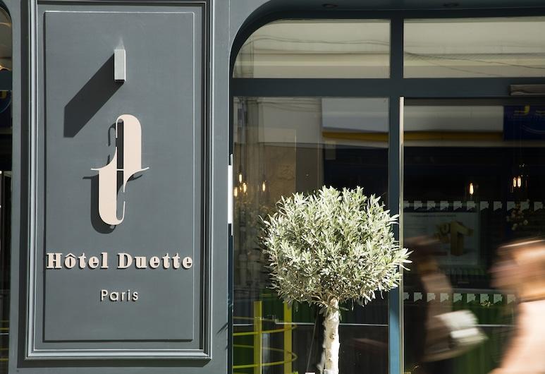 Hotel Duette Paris, Paris, Entrée de l'hôtel