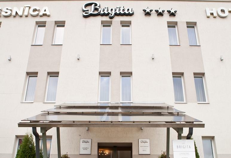 克羅納布里季塔飯店, 里加, 飯店入口