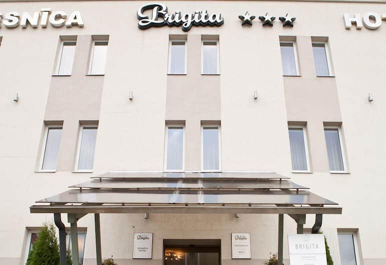 Kolonna Hotel Brigita, Ryga, Įėjimas į viešbutį