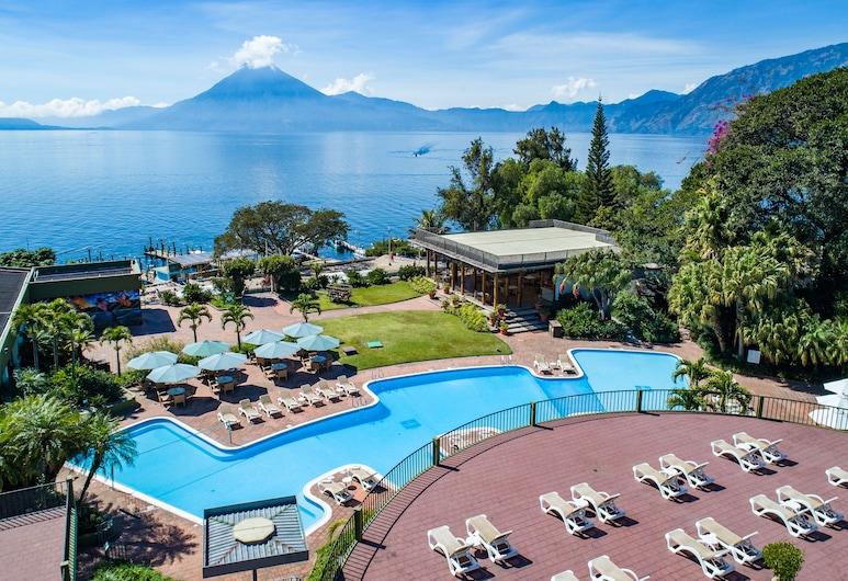 Porta Hotel del Lago, Panajachel, Property Grounds