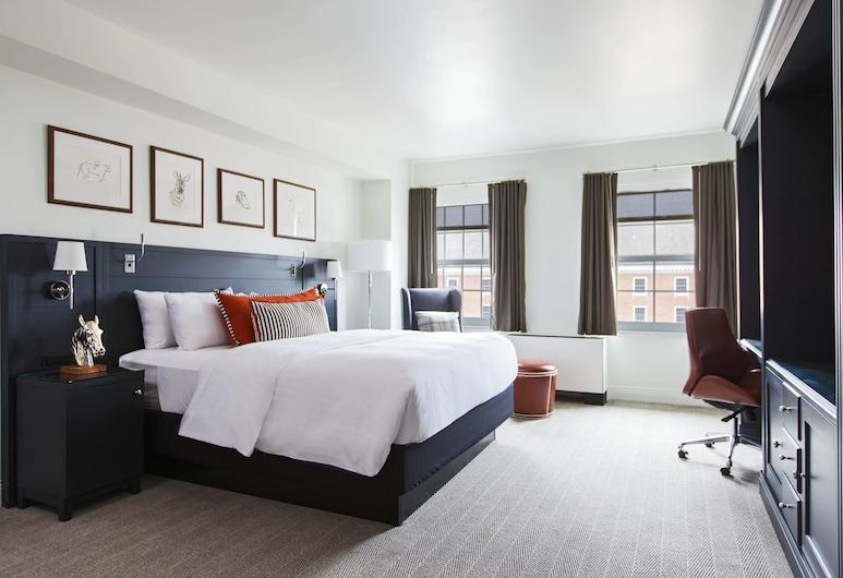 College Park Marriott Hotel & Conference Center, Hyattsville, Liukso klasės kambarys, 1 labai didelė dvigulė lova, Nerūkantiesiems, Svečių kambarys