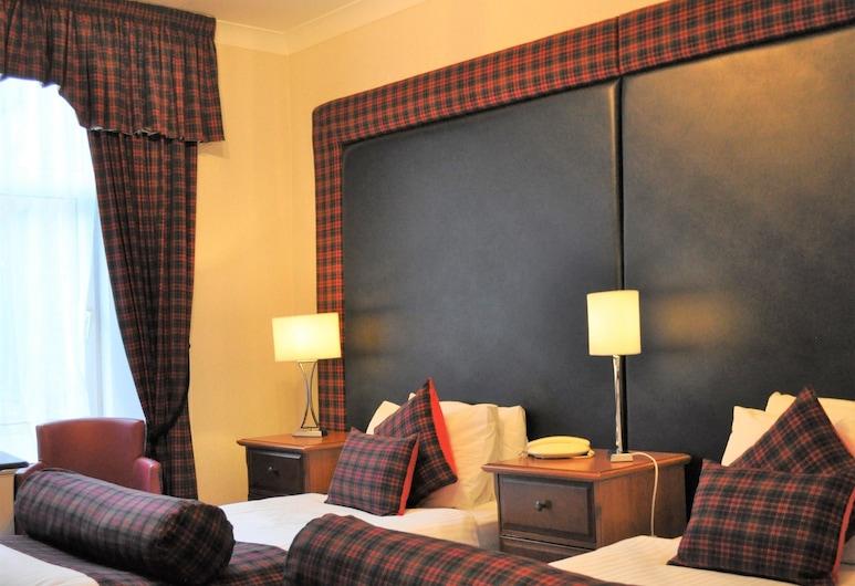 Argyll Hotel, Glasgow, Twin Room, Svečių kambarys
