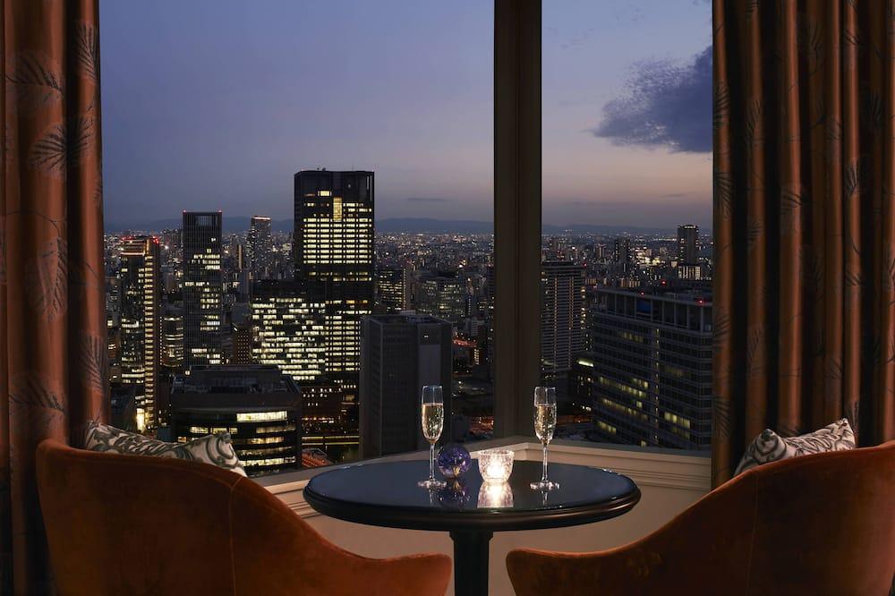 普通套房, 1 張特大雙人床, 非吸煙房 (Club Level) - 城市景觀