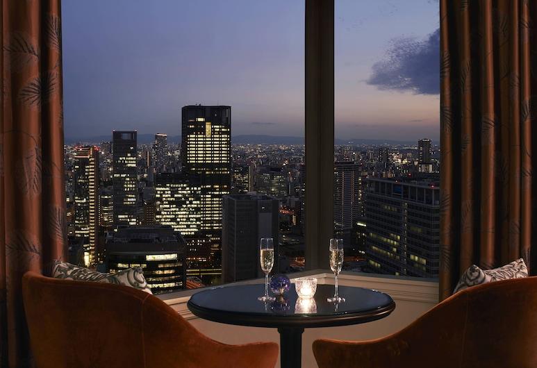 大阪麗思卡爾頓酒店, 大阪, 豪華客房, 1 張特大雙人床, 城市景, 行政樓層 (Guest room, Club Level), 城市景觀
