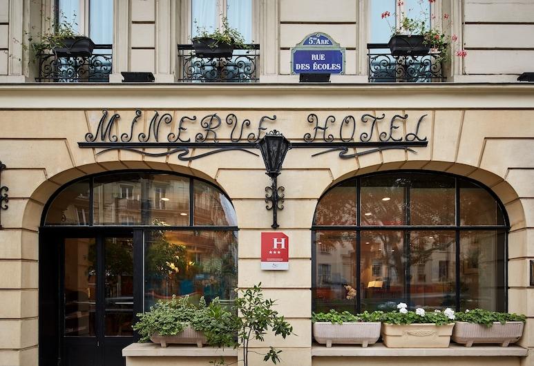 Hôtel Minerve Paris, Parijs, Voorkant hotel