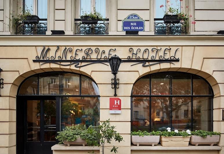 Hôtel Minerve Paris, Paryžius, Viešbučio fasadas