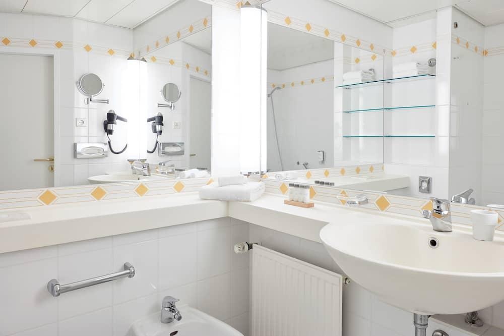 חדר ביזנס יחיד - חדר רחצה