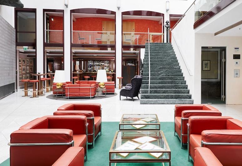 Living Hotel Großer Kurfürst , Berlin, Wejście wewnętrzne