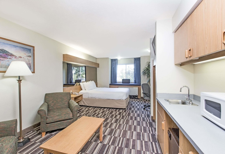 Microtel Inn & Suites by Wyndham Anchorage Airport, Anchorage, Studio Suite, 1 Queen Bed, Non Smoking, Guest Room