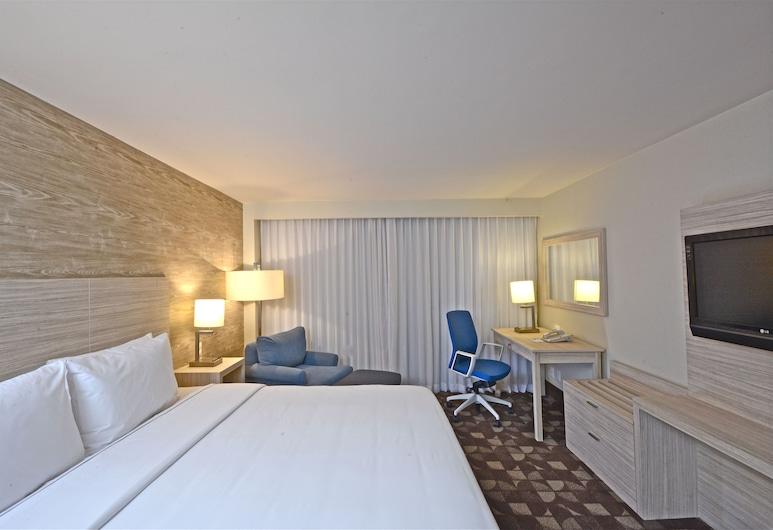 Holiday Inn Express Toluca, Toluca, ห้องพัก, เตียงคิงไซส์ 1 เตียง, ปลอดบุหรี่ (LEISURE), พื้นที่นั่งเล่น