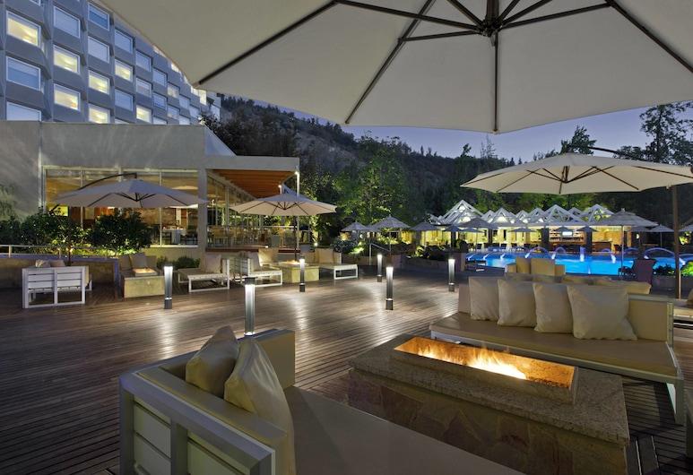 Sheraton Santiago Hotel and Convention Center, Santiago, Quarto Superior, 2 camas individuais, Não-fumadores, Vista Cidade, Refeições no exterior