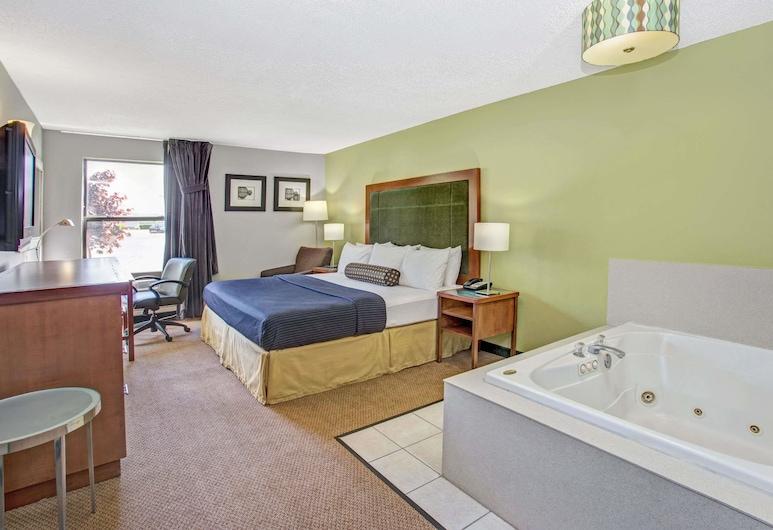 Days Inn by Wyndham Great Lakes - N. Chicago, Lake Bluff, Standardna soba, 1 queen size krevet, Soba za goste