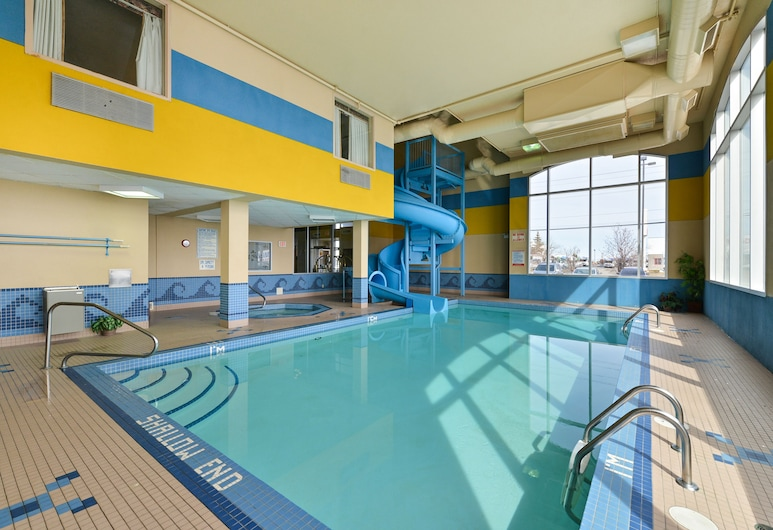 Comfort Inn & Suites Airport South, Calgary, Piscine couverte