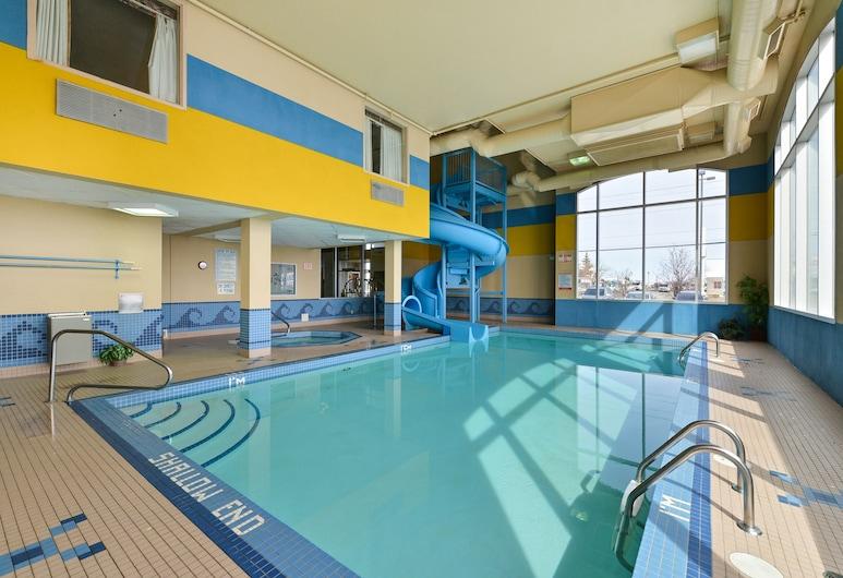 Comfort Inn & Suites Airport South, Calgary, Indoor Pool