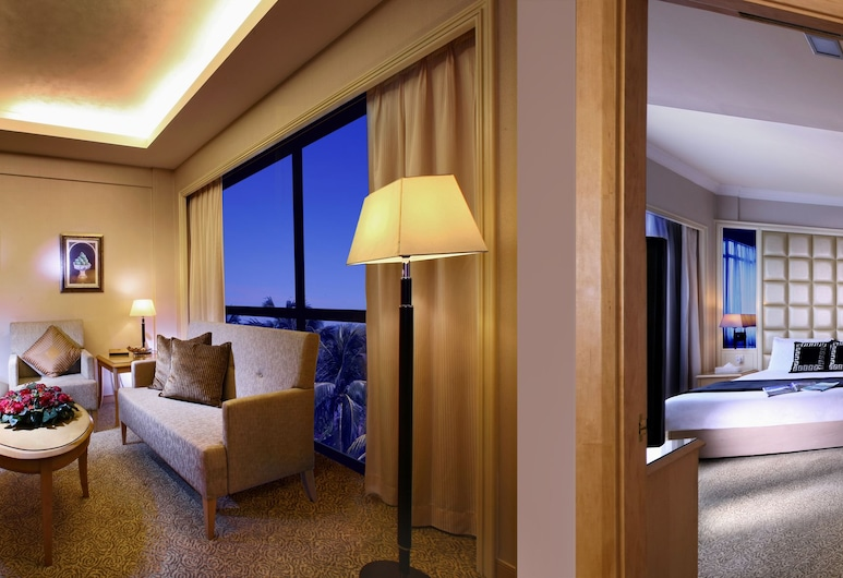 Quality Hotel Marlow, Singapore, Presidential Suite, Living Room