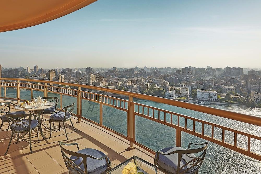 Presidential sviit, 1 ülilai voodi (Nile View) - Terrass