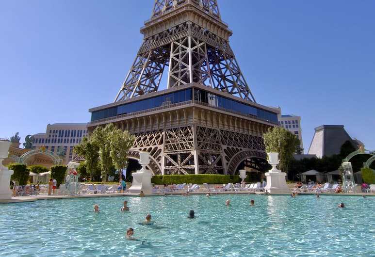 Paris Las Vegas Resort & Casino, Las Vegas, Outdoor Pool