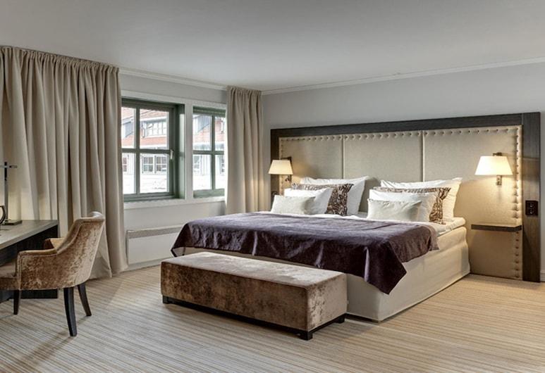 Clarion Hotel & Congress Oslo Airport, Ullensaker, חדר סופריור זוגי, מיטה זוגית, ללא עישון, חדר אורחים