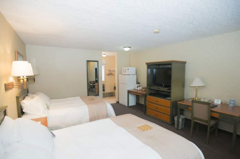 חדר סטנדרט זוגי ליחיד, 2 מיטות קווין - חדר אורחים