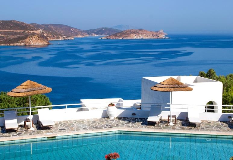 Patmos Paradise Hotel, Patmos, Kolam Terbuka
