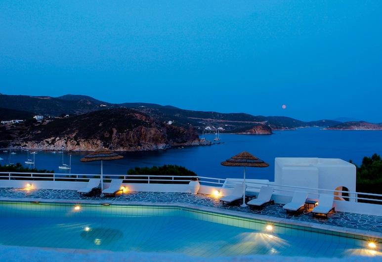 Patmos Paradise Hotel, Πάτμος, Εξωτερική πισίνα