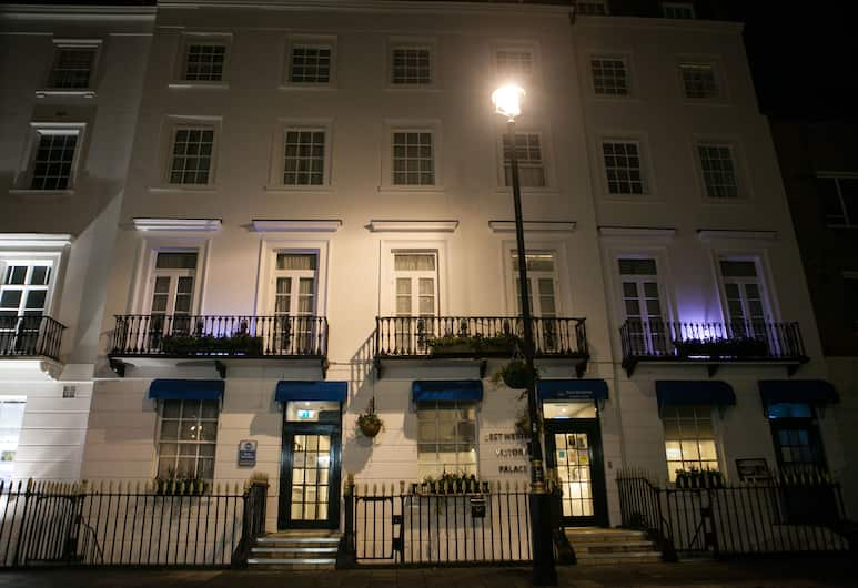 Best Western Victoria Palace, London, Hotel Front – Evening/Night